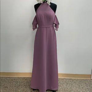 SAMPLE Bill Levkoff wisteria formal dress.